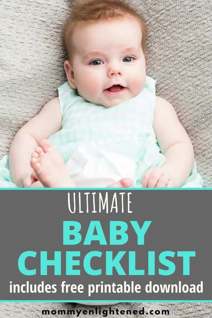 This is a complete and comprehensive list of everything you will need for your baby for the first 6 months. This list goes into detail about the different options you have for different baby products you can purchase. It goes over need to have, nice to have, and not necessary items. Great for a baby registry, or your own personal list of baby needs for the first six months.