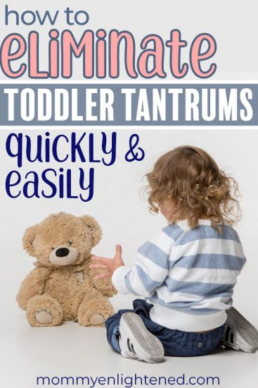 If you are dealing with toddler tantrums, know that it can get better. Here are some solid tips to help you deal with toddler tantrums and other behavior problems quickly and easily. #toddlertantrums #toddlerbehavior #momlife