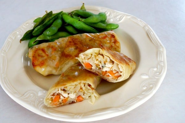 freezer ready delicious egg rolls for the new busy mom