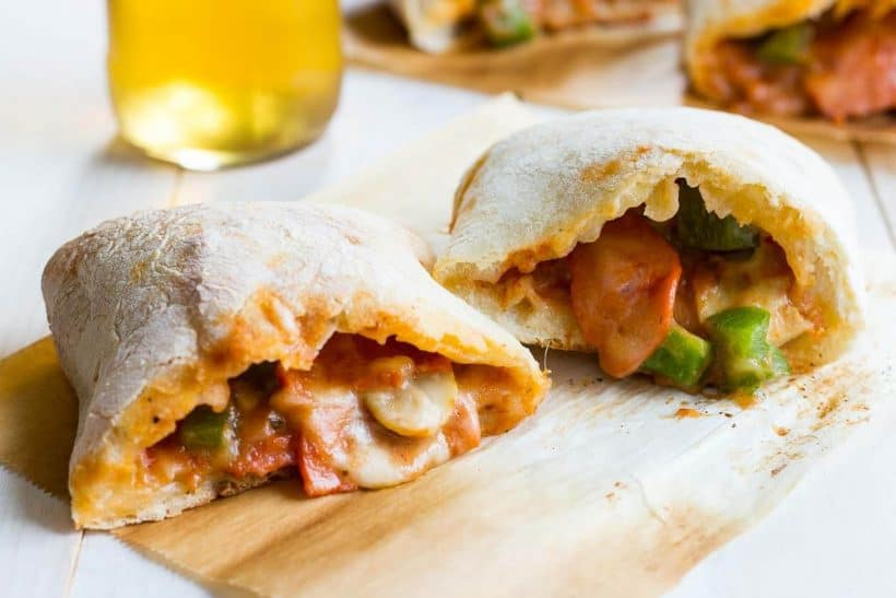 delicious pizza pocket that can be ready freezer made for a new mother
