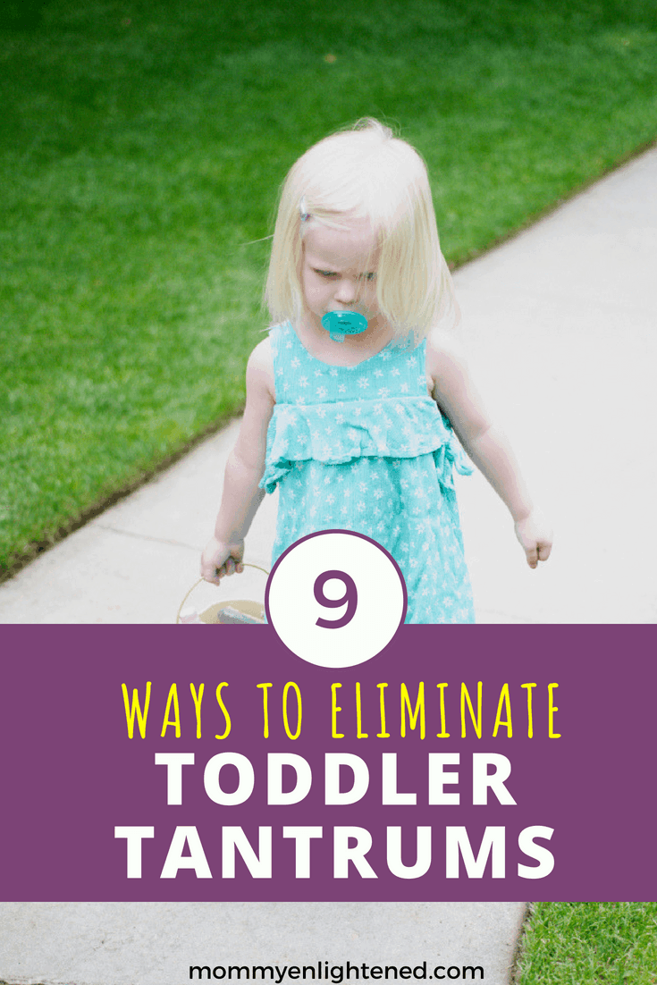 Tantrums are hard! Here are 9 simple steps to help stop toddler tantrums and other negative behavior from your young child. Tantrums can be tough and damaging to your relationship, but having an understanding of why your toddler reacts the way they do will help you eliminate them (mostly) from your life.
