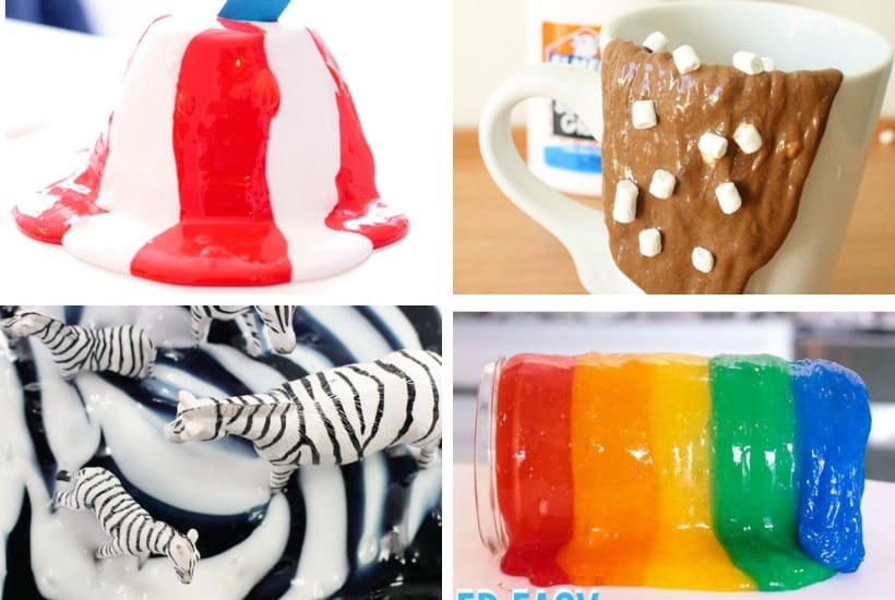 Themed cool slime recipes