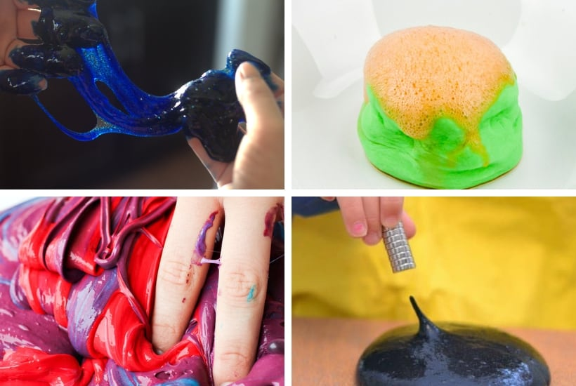 science cool slime