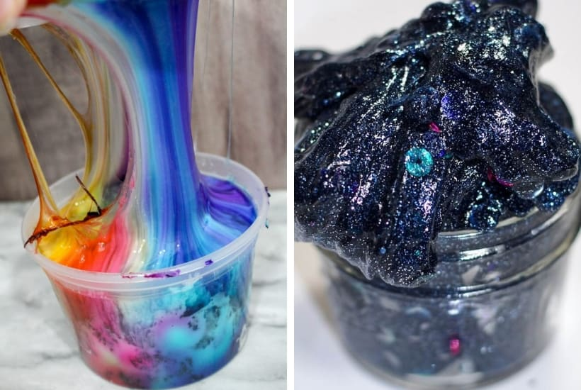 science cool slime recipes