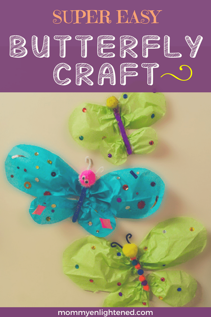 Simple And Fun Butterfly Craft For Kids