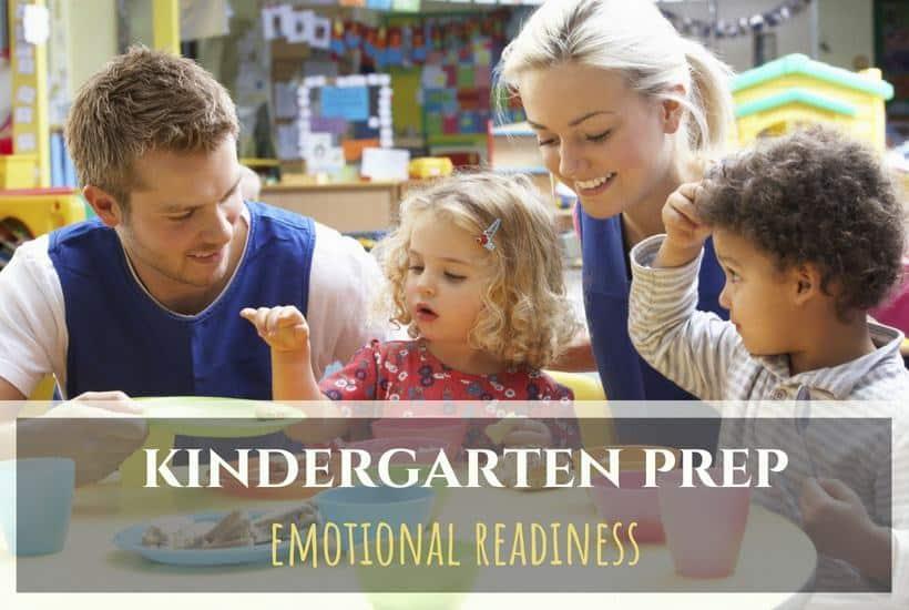 Kindergarten and Emotional Readiness