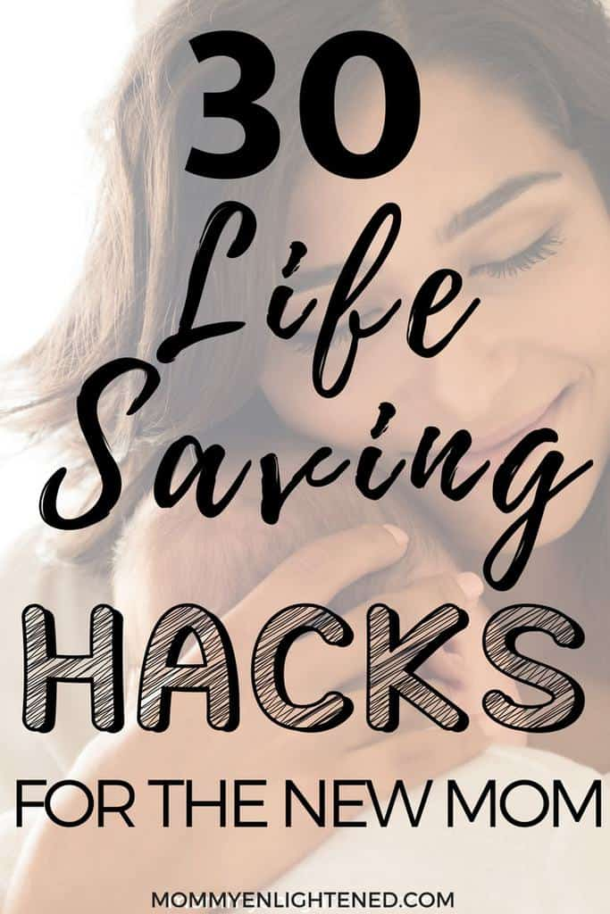 Being a new mom is hard! Even if you read all the parenting books, there are still those little new mom tips and tricks that don't seem to pop up. We have collaborated with numerous seasoned mom bloggers to bring you our best newborn baby hacks! Hang in there!