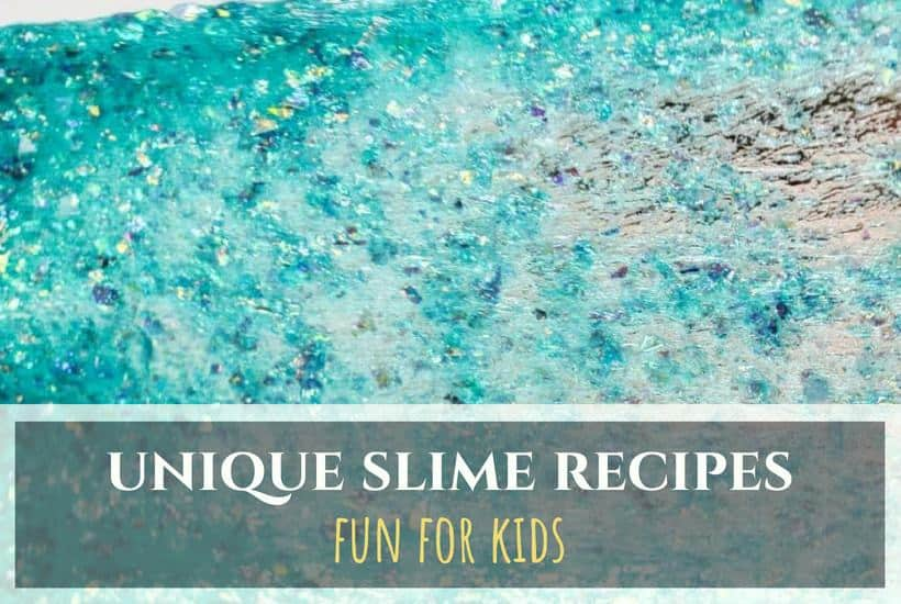 10 Unique Slime Recipes