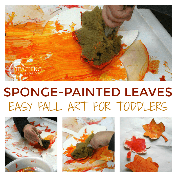leaf art for toddlers