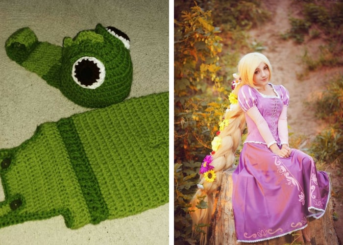 rapunzel halloween costumes mommy and me