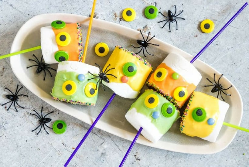 treat halloween crafts for toddlers