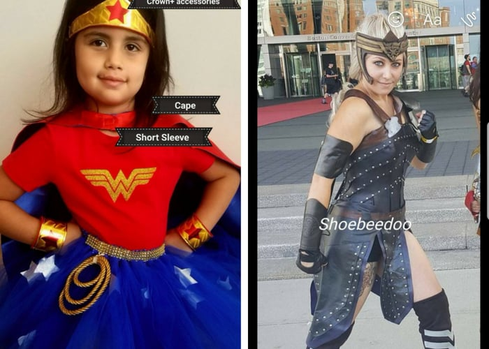wonder woman halloween costumes mommy and me