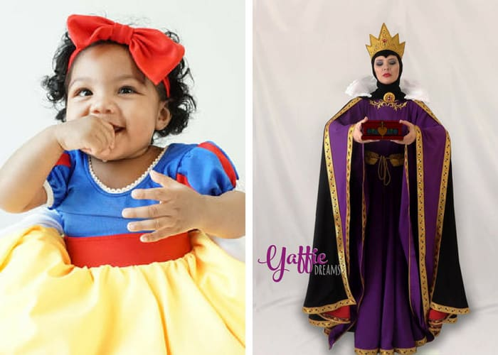 snow white halloween costumes mommy and me