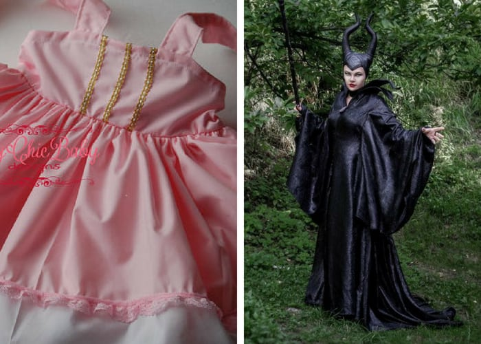 sleeping beauty halloween costumes mommy and me
