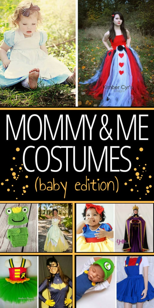 With Halloween approaching, it's time to start looking for some mommy and me costumes for you and your littles. Click through to see some unique and interesting costumes for mom and baby!