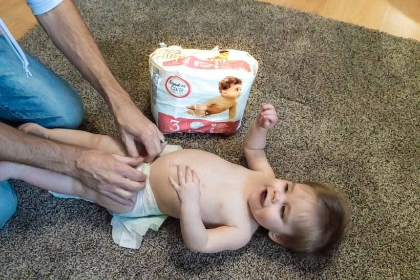 signature care diaper post