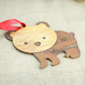 baby's first christmas ornament bear