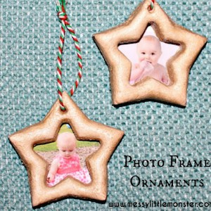 12 baby's first christmas ornament star
