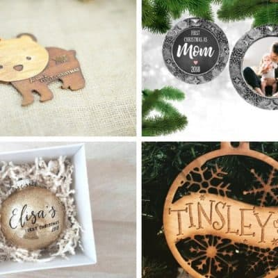 40 Adorable Baby's First Christmas Ornaments