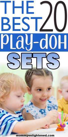 Play Doh is one of the best educational and open-ended toys your child can receive. If your toddler or kid wants play doh for Christmas (or any other gift occasion), this ultimate comparison guide can help you pick the very best playset! #mommyenlightened #giftsfortoddlers #giftsforkids #christmasforkids #playdoh #topkidtoys #topkidgifts #playdohplayset #playdohset