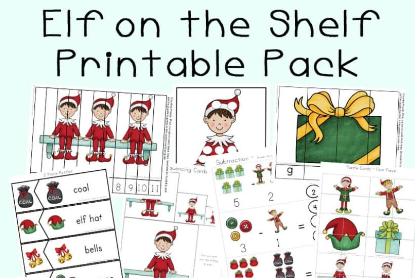 mega elf on the shelf printable