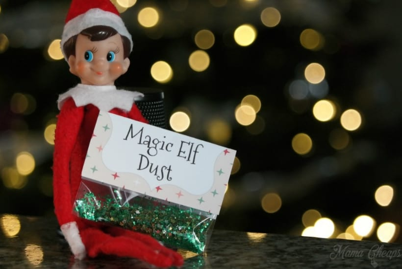 magic dust for elf on the shelf activity