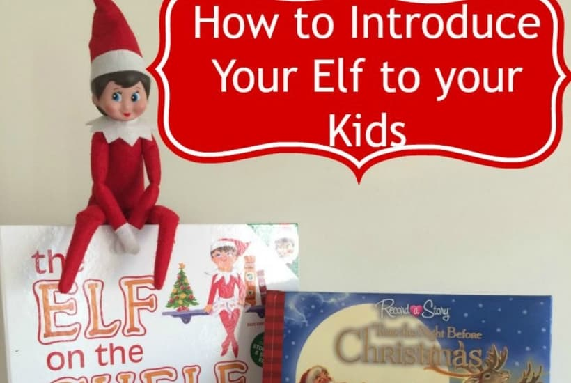 introduce elf on the shelf activity