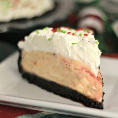 Delicious Candy Cane Pie