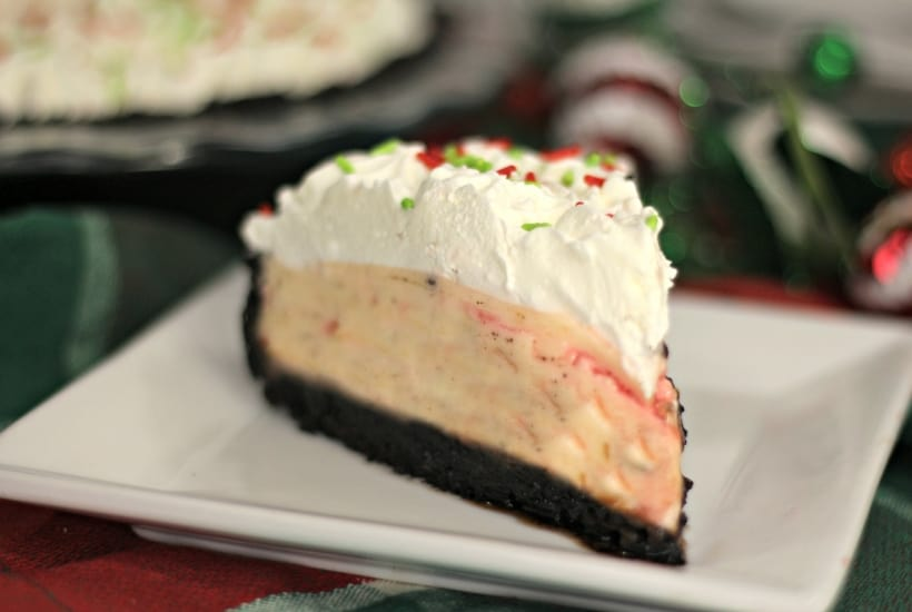 candy cane pie