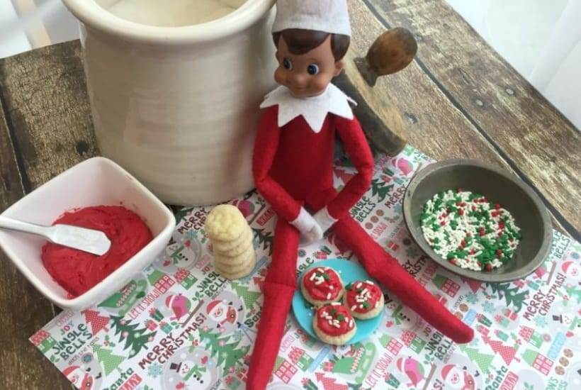 cookies elf on the shelf activity