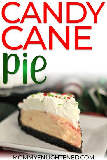 candy cane pie pin