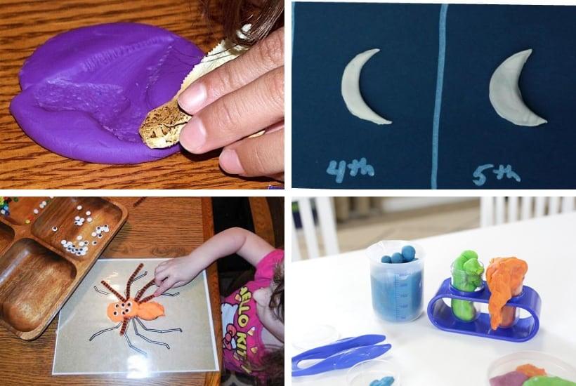 educational play dough activities