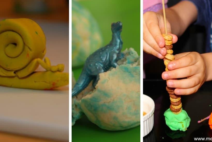 toddler play dough activities