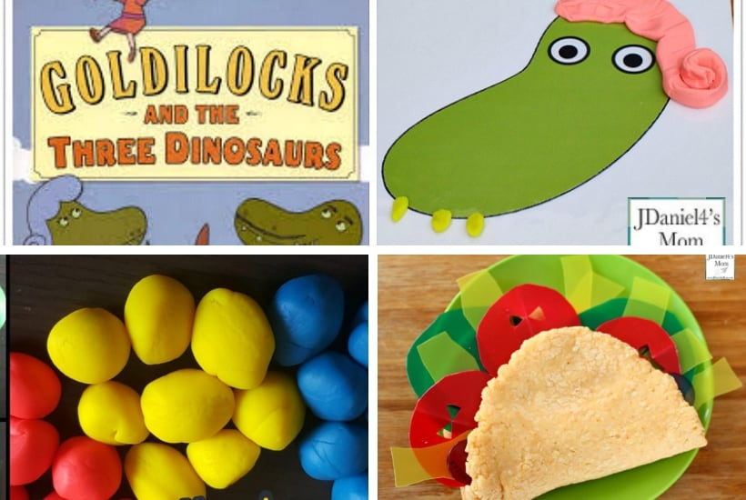 book based play dough activities