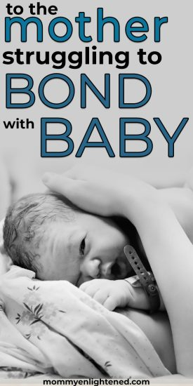 postpartum feelings bond with baby
