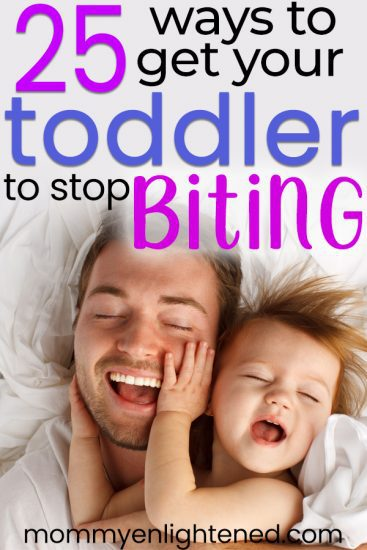 pin about toddler biting