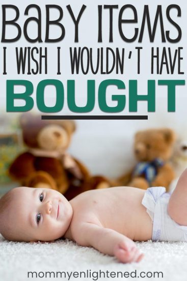 not necessary baby item pinterest image
