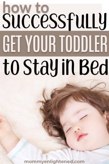 toddler getting out of bed repeatedly pin
