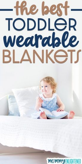 If you're looking for the best sleep sacks for toddlers, we have that list here! Most of these wearable blankets are ones we have personally tried, and we bet your little one will love them! #sleepsack #toddlersleep #wearableblanket #toddler