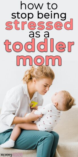 a mom with a toddler