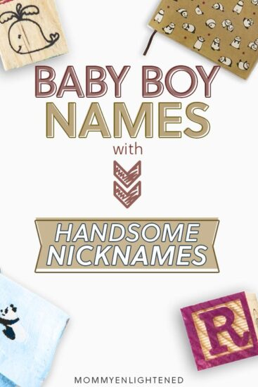boy names with nicknames pinterest pin