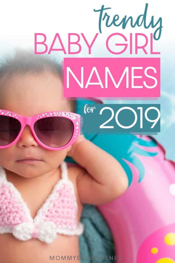 trendy baby girl names pinterest pin
