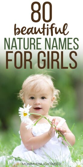 NATURE NAMES FOR GIRLS PINTEREST PIN
