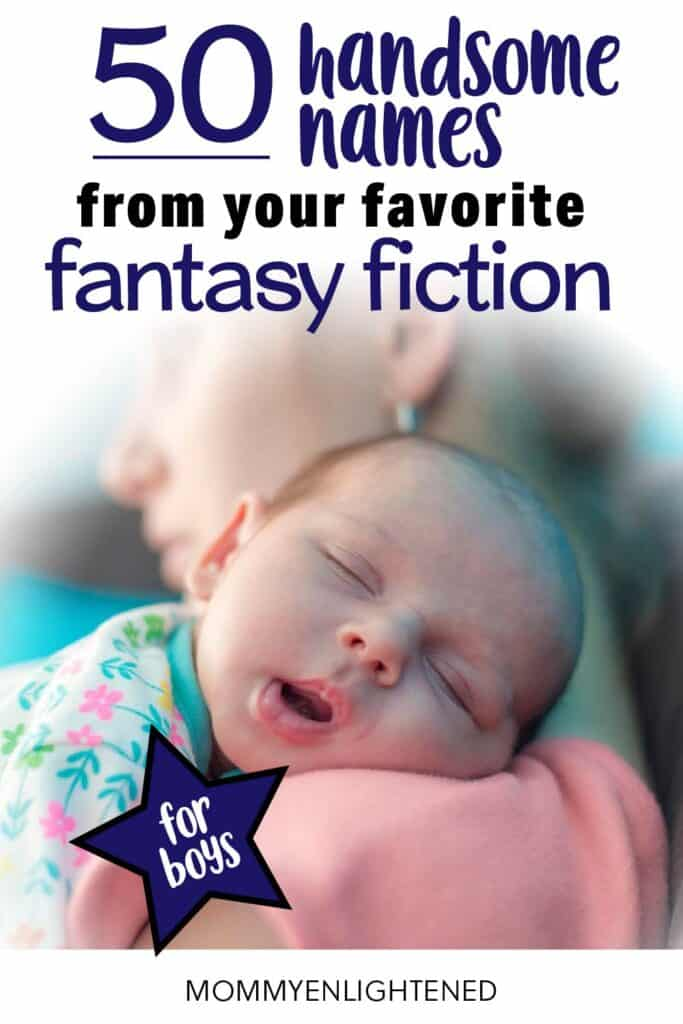 fantasy baby boy names pinterest pin