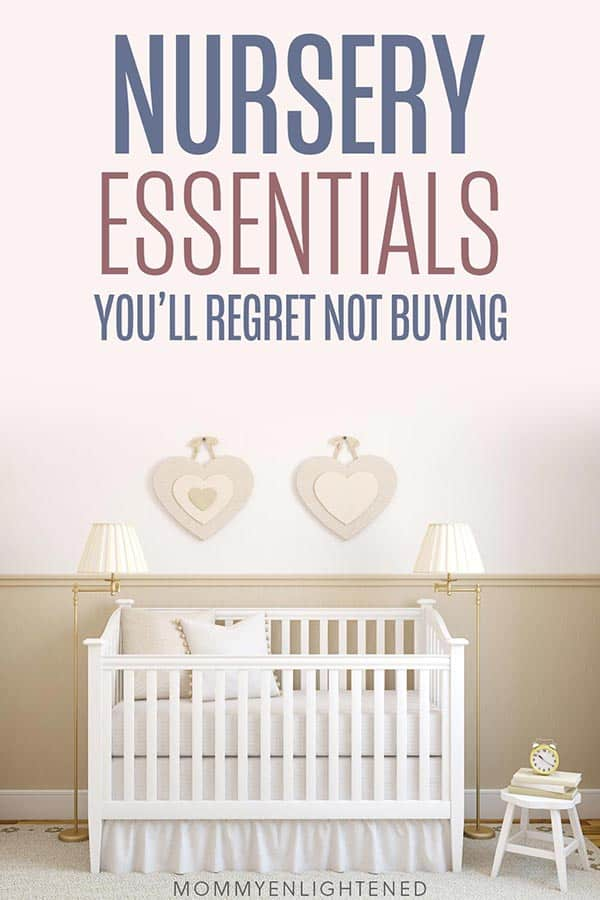 nursery essentials pinterest pin 2