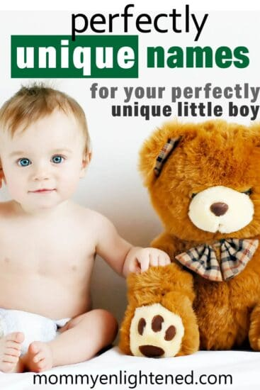 unique baby boy names pinterest pin