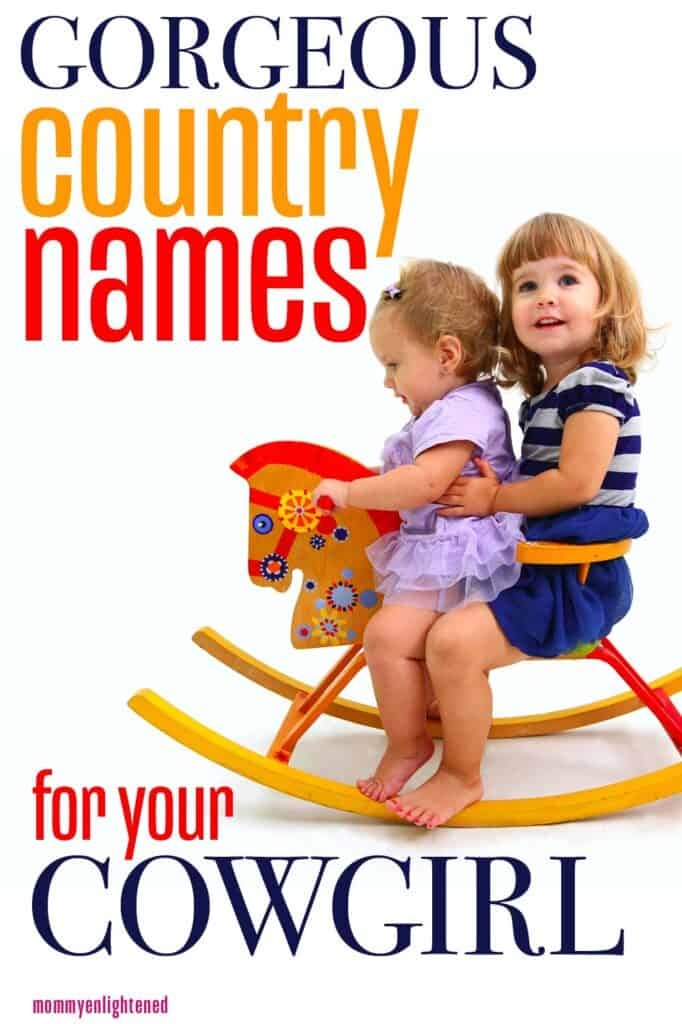 Country Western Girl Names - Mommy Enlightened