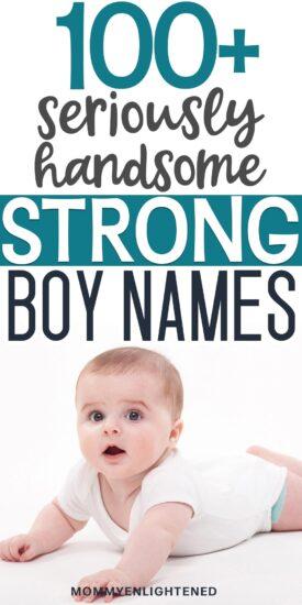 strong boy names pinterest pin