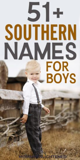 Southern Names for Boys - Mommy Enlightened