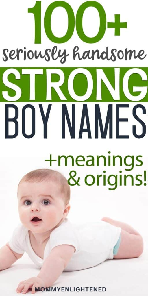 strong boy names pinterest pin